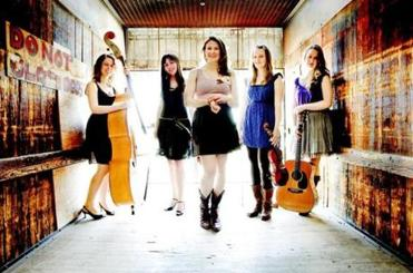 Among the acts at the Joe Val Bluegrass Festival are the highly touted Della Mae.